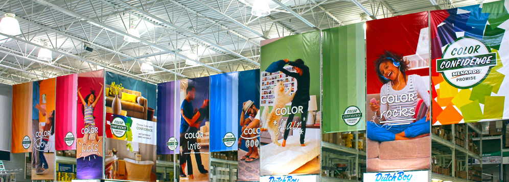 Michigan Large Format Color Banners